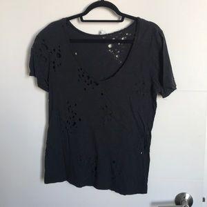 Bullet hole T-shirt